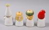 Figuriner, 4st, stengods, lisa larson, gustavsberg.