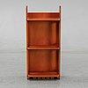 Josef frank, a model 2085 mahogny shelf for firma svenskt tenn.