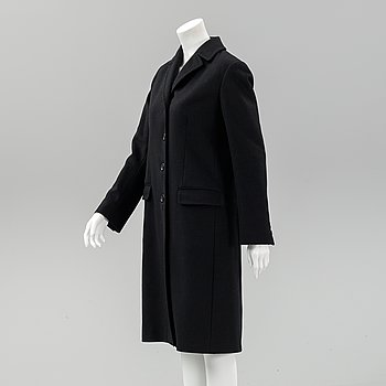 Burberry, a coat, size UK 12.