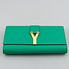 Yves saint laurent, 'sac ligne y' clutch.