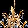 An italian chandelier, 1960's/70's.