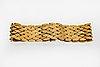 Bracelet 18k guld ca 20 x 2,5 cm, 50,5 g.