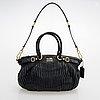 Coach, madison gathered leather sophia satchel bag.