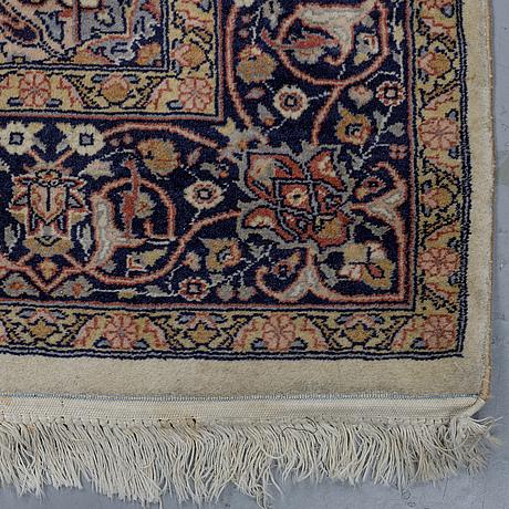 A rug, kashmir, ca 229 x 143 cm.