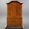 A late baroque cabinet, first half of the 18th century.
