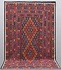 A carpet, kilim afghan, ca 326 x 204 cm.