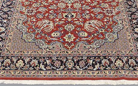 A rug, yazd, ca 260 x 198 cm.