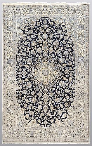 Matto, nain part silk s.k 6laa, ca 248 x 155 cm.