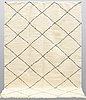 A moroccan carpet, 295 x 212 cm.