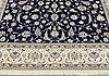 A carpet, nain part silk, 350 x 250 cm.