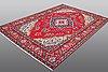 A carpet, täbriz, 293 x 194 cm.