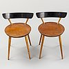 Two 1950's chairs.