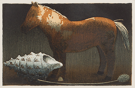 Esa riippa, etching, signed and dated -92, numbered 94/100.