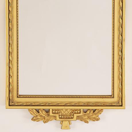 Spegel, gustaviansk stil, 1900-talets andra hälft.