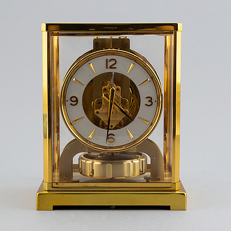 Jaeger lecoultre, 'atmos' table clock.