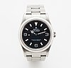 Rolex, explorer (swiss made), chronometer, wristwatch, 36 mm.