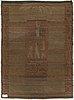 Margareta ahlstedt-willandt, finnish long pile rug for neovius. circa 200x148 cm.