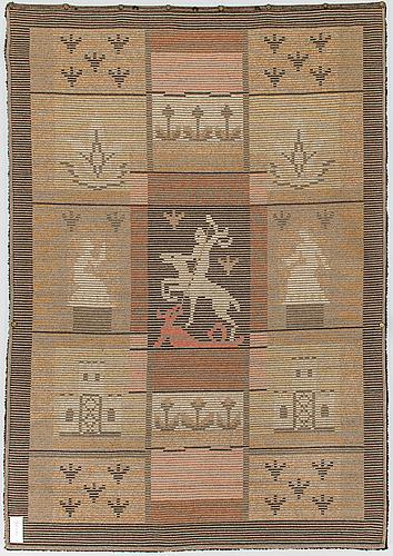 Ester ax, a longpile rug for wetterhoff. circa 223x155 cm.