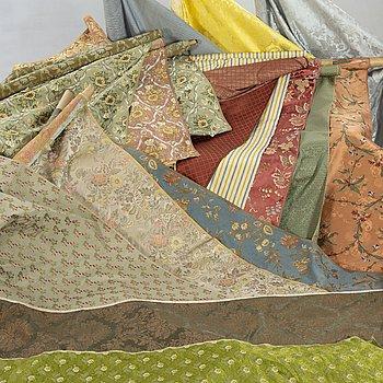 17th rolls of 20th century second half fabric by Luigi Bevilaqua and Rubelli, Venice Italy.