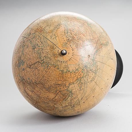 Globe, ernst schotte & co, berlin, early 19th-century.