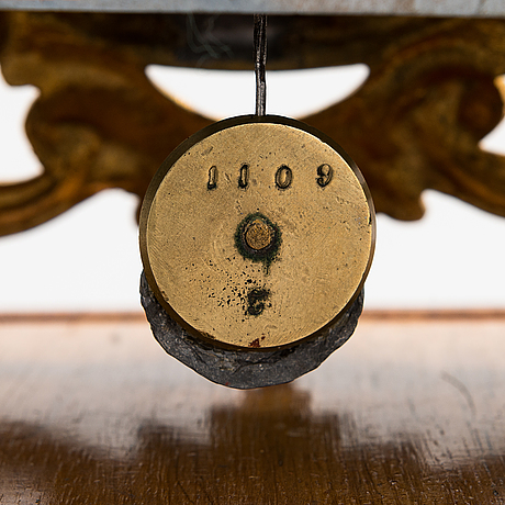 Table pendulum, turn of the century 1900.