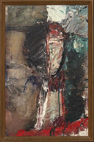 Lillemor rudolf-hall, oil on on canvas.