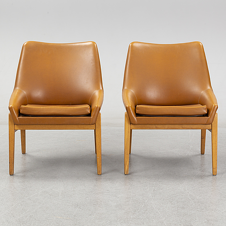 A pair of 1960's armchairs by ire möbler.