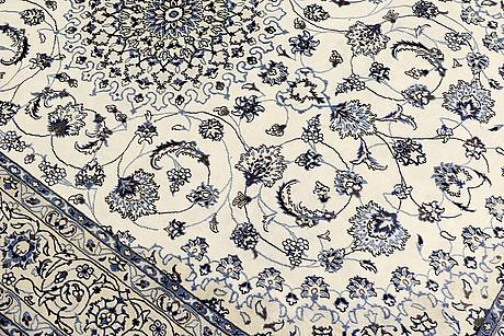Matta, nain part silk, sk 9laa, ca 500,000 knutar/kvm, 296 x 191 cm.