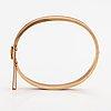 A 14k gold bracelet. westerback, helsinki 1961.