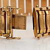 A 14k gold bracelet. italy.