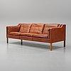 Børge mogensen, soffa, modell 2213, fredericia stolefabrik, danmark.
