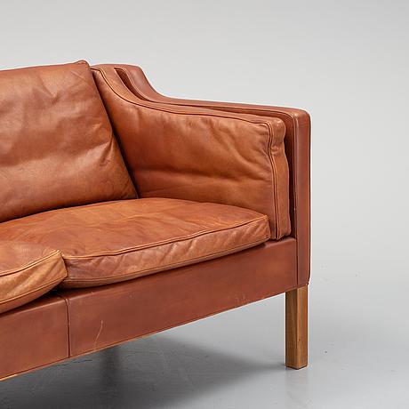 Børge mogensen, soffa, modell 2212, fredericia stolefabrik, danmark.