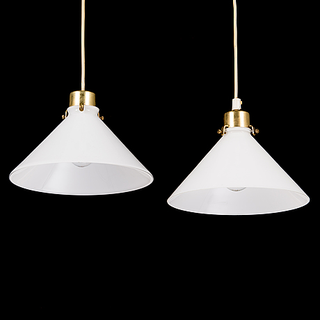 Two late 20th century  pendant lights '15631' for aneta.