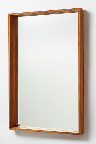 A swedish 1950's-60's mirror model 7028 from glas & trä, hovmantorp.