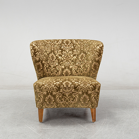 A mid 20th century easy chair by gösta jonsson.