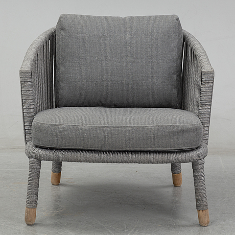 Foersom & hiort-lorenzen, a'moments' easy chair from cane-line, denmark.