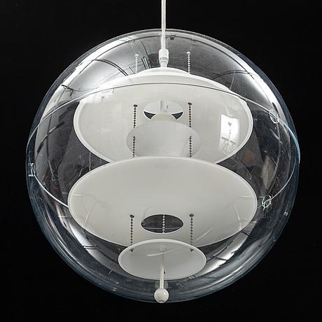Verner panton, a 'vp globe' pendant light, verpan.