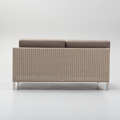 A 'connect' sofa, cane-line, denmark.