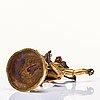 A sino-tibetan copper alloy of rksavaktra dakini, late 18th century, circa 1800.