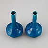 Vaser, ett par, porslin. qingdynastin, 1800-tal.