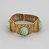 A chinese bracelet, 20th century.
