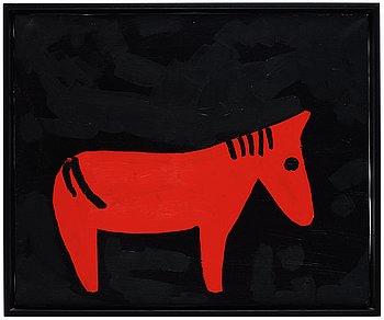 """326. Roger Risberg, """"Häst""""."""
