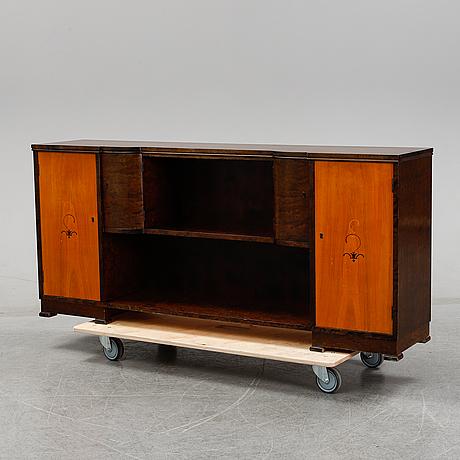 A 1930's art deco bookshelf.