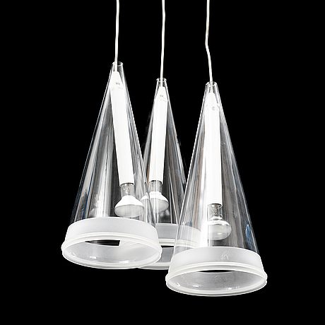 Achille castiglioni, a 'fucsia 1' ceiling lamp, for flos.