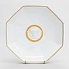 A 36-piece set of versace 'ikarus médaillon méandre d'or' porcelain tableware for rosenthal.