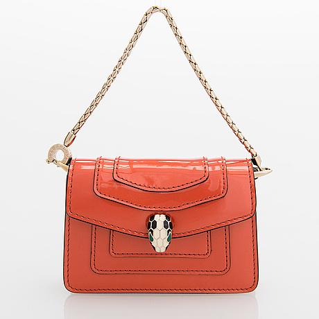 Bvlgari, 'serpenti forever' miniature bag.