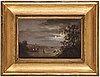 Carl samuel graffman, oil on canvas.