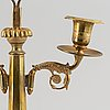 A bronze empire lithofany holder, first half of the 19th century.