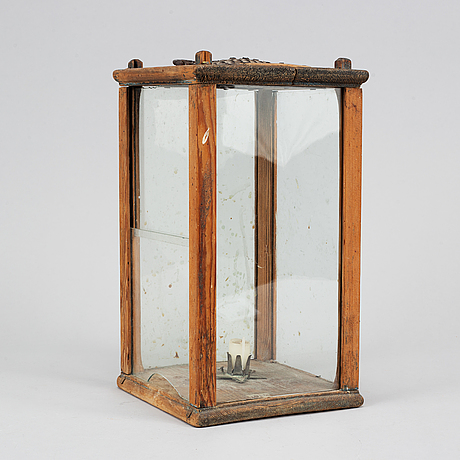 A lantern, 18th/19th century.