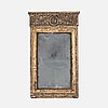 An early 19th century late gustavian mirror.